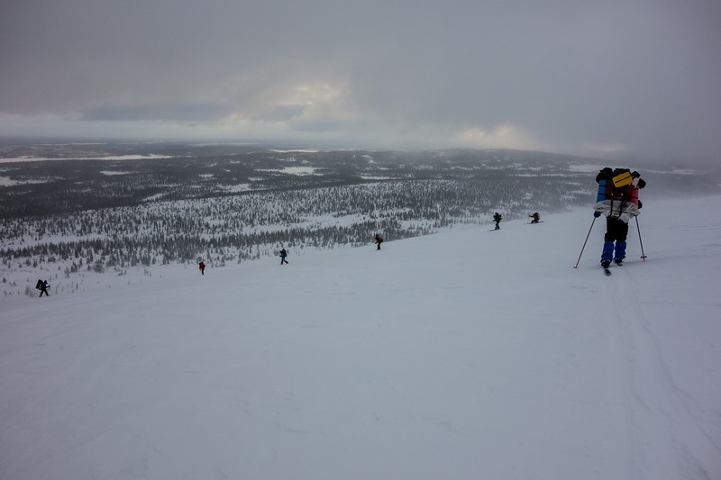 Отчет о лыжном походе 2 к.с. в районе Кандалакшских Тундр
