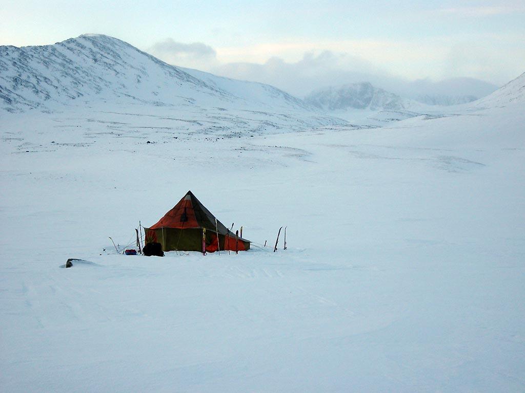 Отчёт о лыжном походе 4кс по Приполярному Уралу