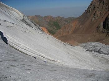 Отчёт о горном походе 3кс. Северный Тянь-Шань.