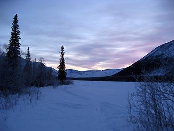 Отчёт о лыжном походе 1кс по Хибинским тундрам