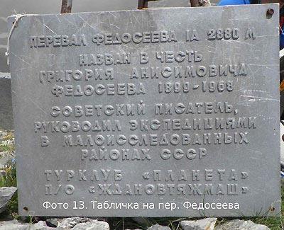 Отчёт о походе 1 к.с. на Западный Кавказ