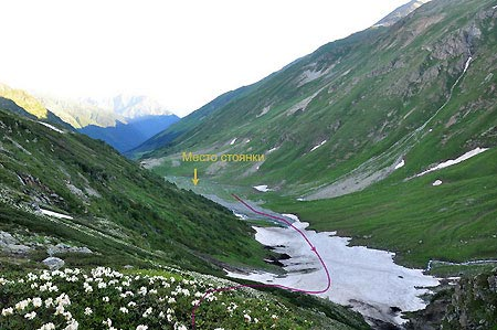 Отчет о горном походе 3кс на Западном Кавказе, Архыз