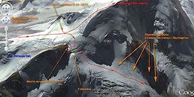 Отчет о новогоднем походе 3кс с элементами 4кс в Безенги