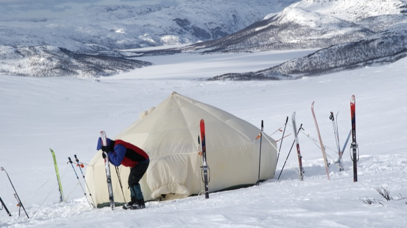 Отчет о лыжном походе 1кс (с эл. 2кс) по СЗ части Кольского Полуострова